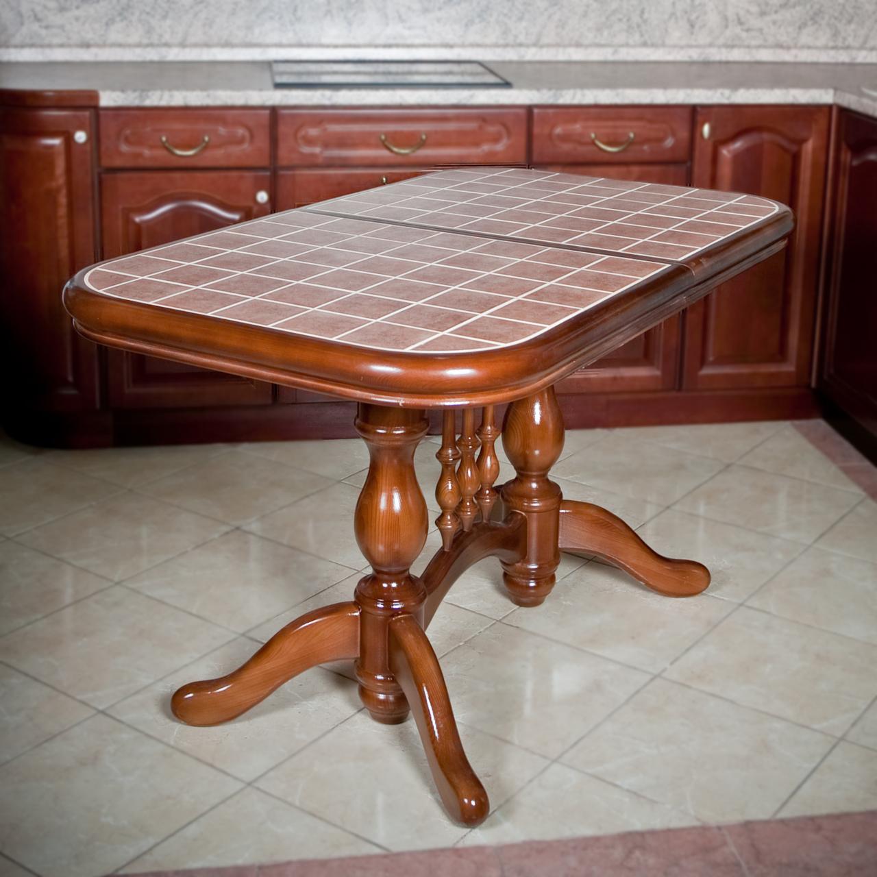 Овальные столы для кухни своими руками