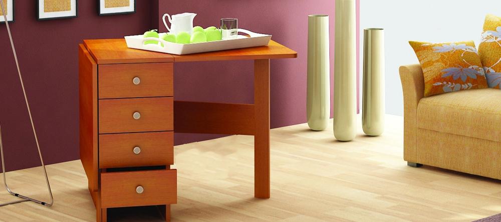 Стол-книжка с ящиками: мебель повышенной функциональности