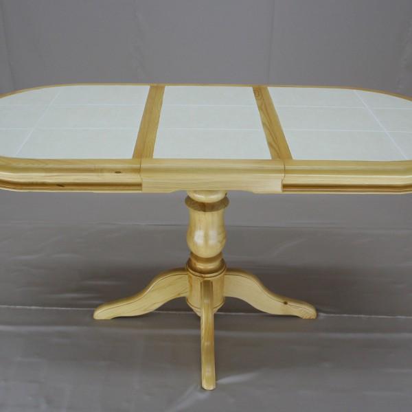 Стол с плиткой на одной ножке