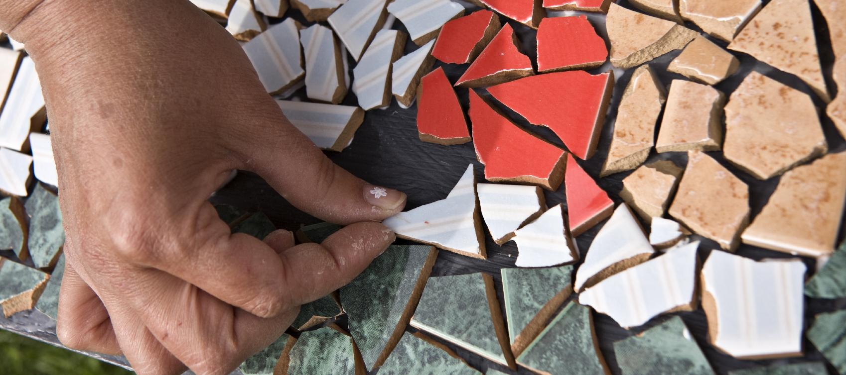 Глиняная плитка своими руками 85