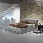 Итальянский модерн в интерьере спальни