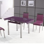 Стеклянный цветной стол с рисунком