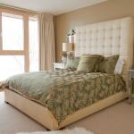 Дизайн спальни с зелеными оттенками
