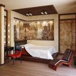 Дизайн японской спальни