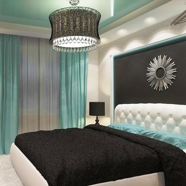 фото спальни хай-тек интерьер