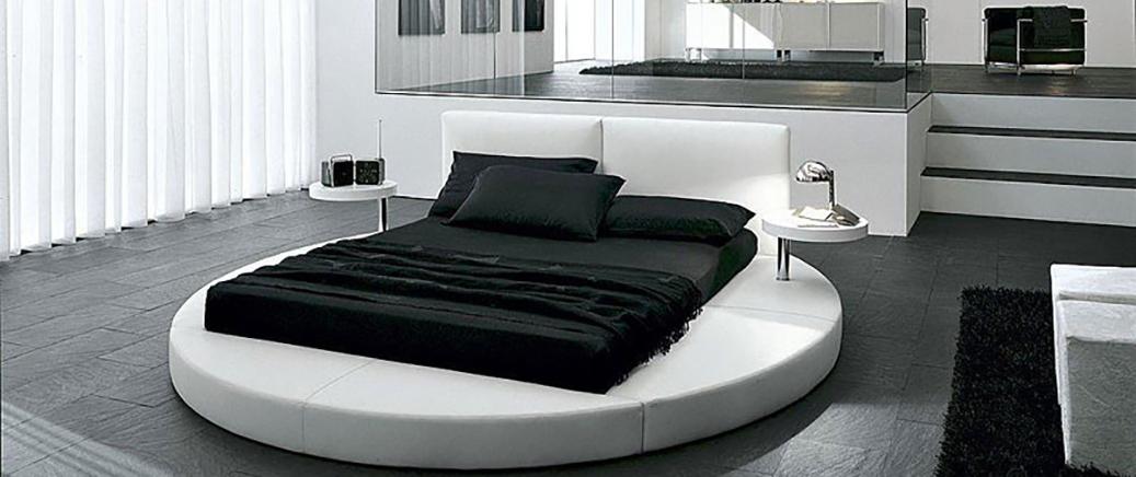 Спальня в стиле хай-тек: функциональность в форме изящества