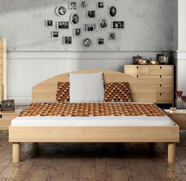 Спальня из массива бука