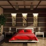 Японский дизайн спальни
