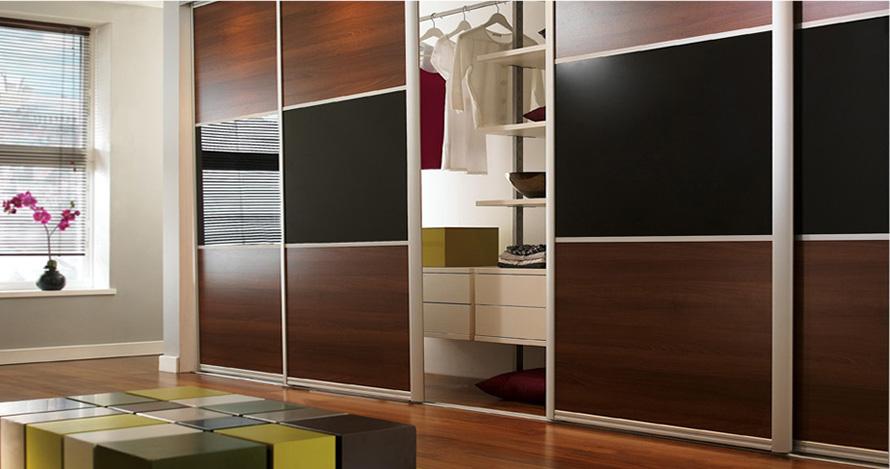Встроенные шкафы-купе: со вкусом используем каждый уголок квартиры