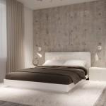 Нежная спальня в стиле минимализм