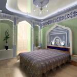 Просторная восточная спальня