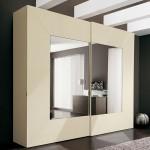 Дизайнерский шкаф-купе с зеркалами