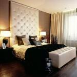 Интересный вариант дизайна спальни