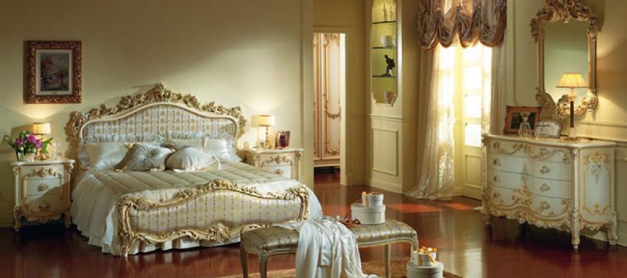 спальня в стиле барокко дизайн интерьер мебель и фото