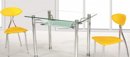 Ножки для стеклянных столов: разновидности и особенности выбора