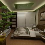 Классическая японская спальня