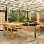 Бильярдно-обеденный стол