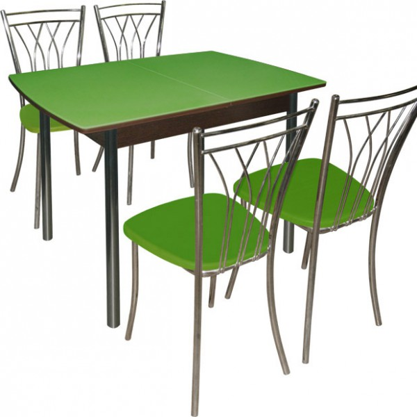 Обеденная группа со столом трансформером
