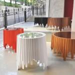 Оригинальные стеклянные столы