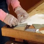 Обеденный стол из керамической плитки своими руками