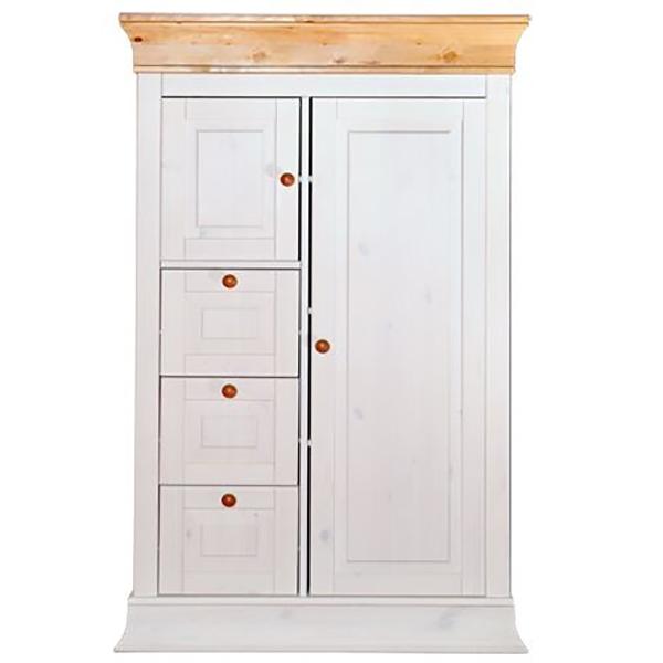 Красивый шкаф для белья с ящиками
