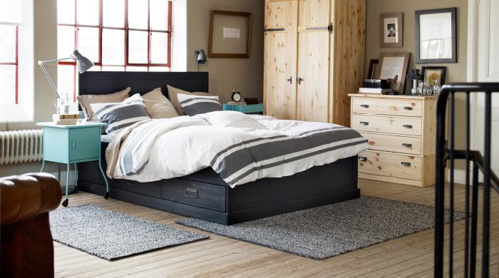 Характеристика разных моделей платяных шкафов для спальни от ИКЕА