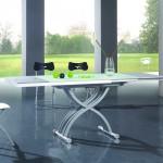 Прямоугольный стол-трансформер