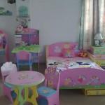 Детская комната с мультипликационными героями