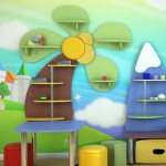 Детская комната с природными мотивами