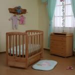Детская кроватка Кубаньлесстрой