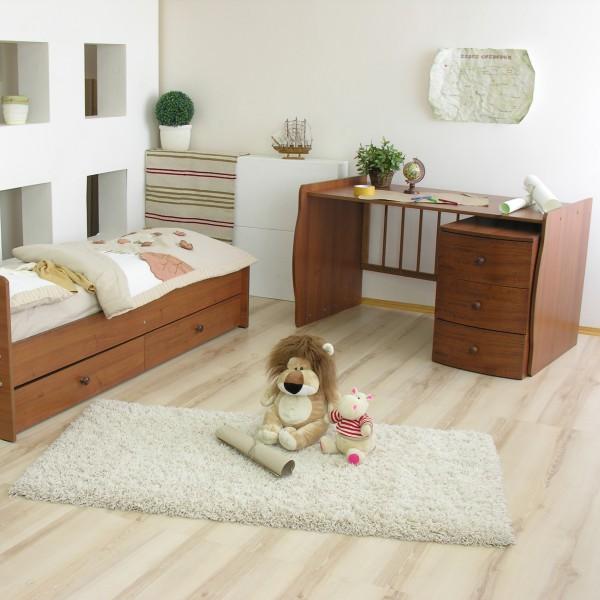 Детская кроватка трансформер со столом