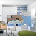 Комната в светло-голубых тонах