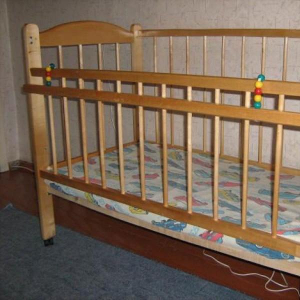 Кроватка своими руками