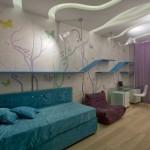 Природные мотивы в комнате для девочки-подростка