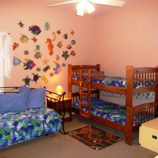 декоративное оформление стены в детской