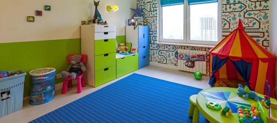 Преимущества мебели для детской комнаты от Икеа