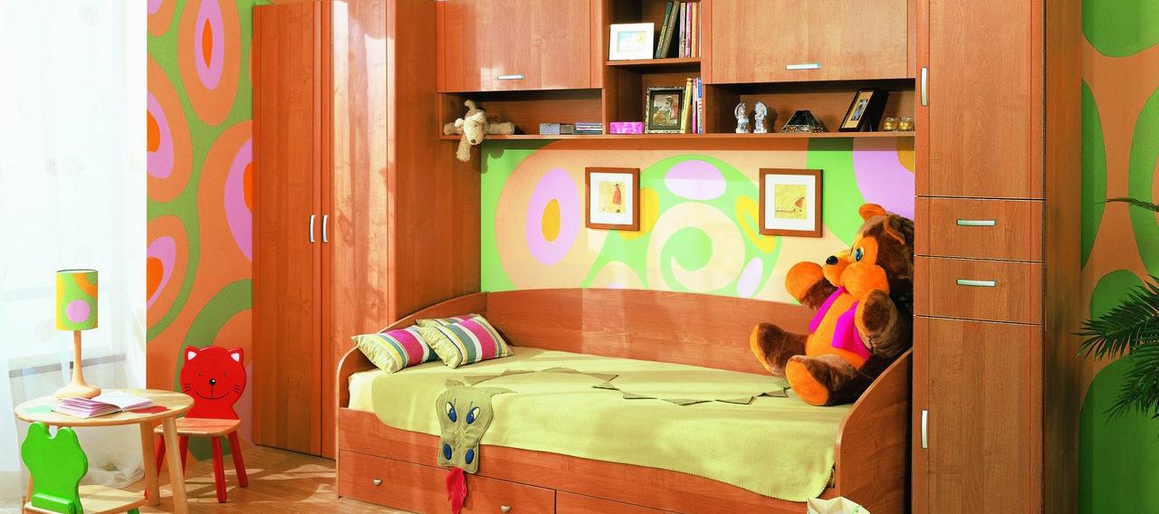 Мебель для детской комнаты: критерии выбора