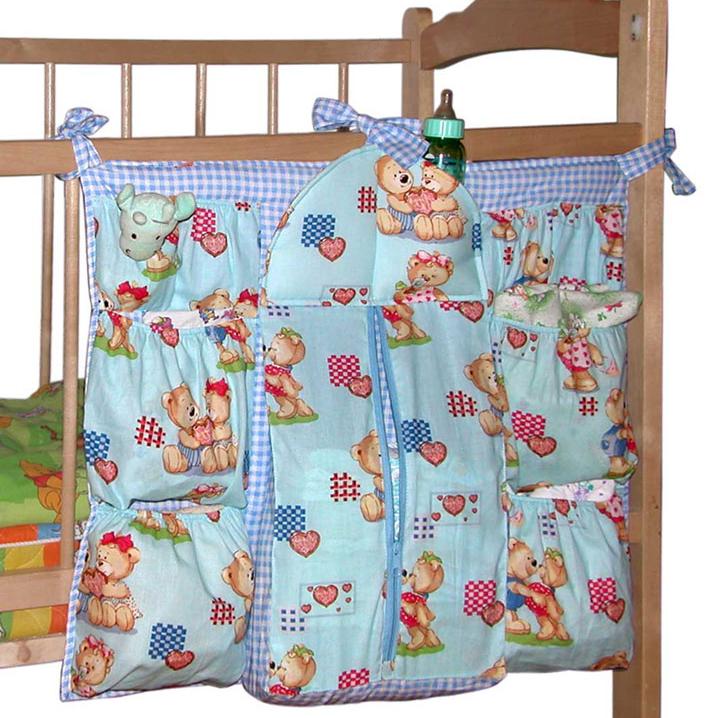 Детский карман на кроватку