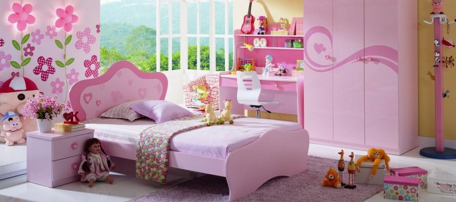 Выбор мебели в комнату для девочки