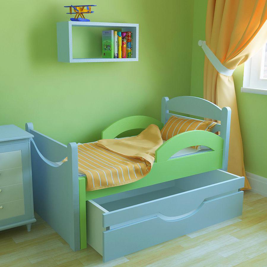 Кровать для детей от 4 лет фото