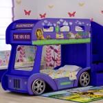 Двухъярусная кровать в виде автобуса