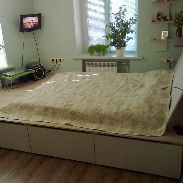 Кровать подиум своими руками с ящиками