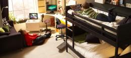 Двухъярусные кровати от Икеа: безопасное и практичное решение в детскую