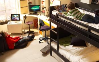 Особенности двухъярусных кроватей Икеа