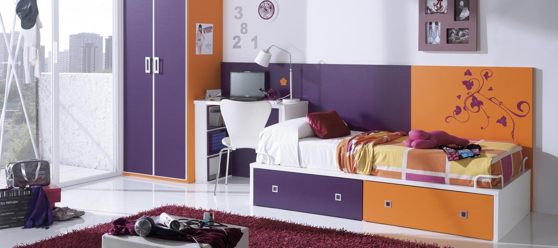 Детская и подростковая кровать с ящиками: функциональная мебель