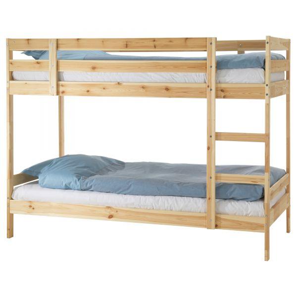 каркас двухъярусной кровати мидал икеа