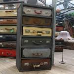 Из старых чемоданов