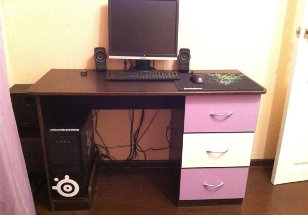 компьютерный стол комод
