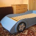 кровать машинка сделанная своими руками 1
