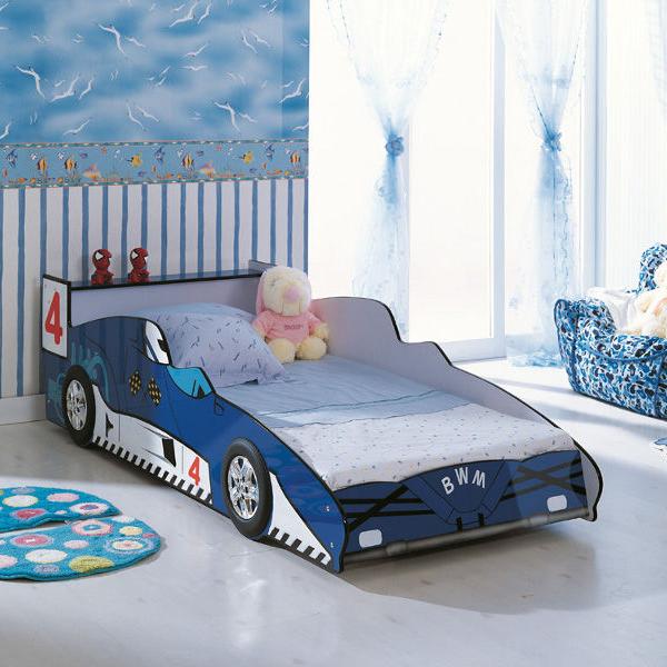 кровать машинка сделанная своими руками
